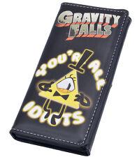 Gravity Falls Bill Cipher Boss Coin Wallet Purse Button Layers Money Kawaii