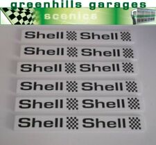 Greenhills Scalextric Slot Car Pit Wall White - Shell x 6 1:32 scale - Brand ...