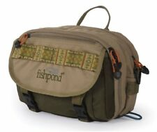 Fishpond Blue River Fly Fishing Chest/ Lumbar Pack In Khaki/Sage - Free Us Ship