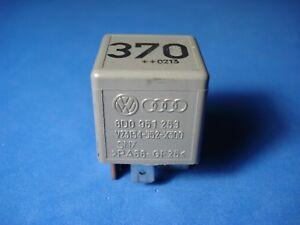 VW Audi Multi-Purpose Relay #370 8D0 951 253 // V23134-J52-X300