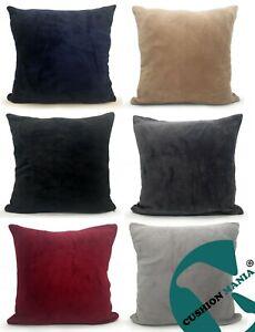 Cushion Covers Plush Faux FUR Soft large Cover of filled cushion plain