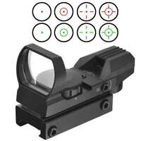 Reflex Sight With 4 Reticles Red Green For Mossberg 500 ATI TACTICAL.