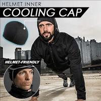 Moisture Wicking Cooling Skull Helmet Inner Liner Beanie Dome Cap Sweatband Vv