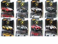 2017 Hot Wheels Lamborghini Set Diecast Metal Toy Cars 1:64 *PRIORITY SHIPPING*