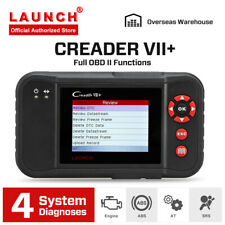LAUNCH Creader VII+ Automotive OBD2 Diagnostic Scan Tool LIVE DATA Emission Test