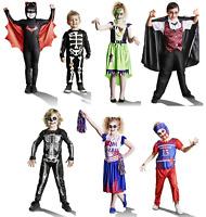 Children's Halloween Costume Vampire Frankenstein Zombie Cheerleader Skeleton
