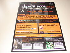 DEPECHE MODE EXCITER TOUR 2001!!!!!!!!!FRENCH PRESS/KIT