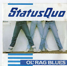 "Status Quo - Ol Rag Blues 7"" Single 1982"