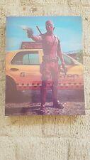 Deadpool Blu Ray Steelbook +Lenticular Slipcase-FAC#48 Filmarena New & Sealed
