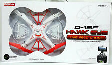 Foda 2.4GHz 4 Channel RC Quadcopter 6-Axis Gyro With Camera Live Feed Drone D15F