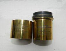 Antique Orthopanactinic Lens Parts J.H. Dallmeyer spares or repair