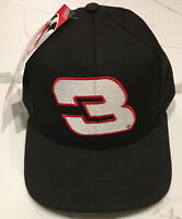 Vintage Dale Earnhardt Snapback Hat NASCAR Made In USA Cap Chase Authentics NWT