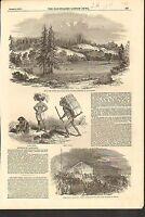 #01-0183 8/9/1851 ANTIQUE PRINT (CALIFORNIA) - RUSSIAN RIVER - LYNCH LAW