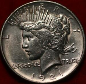 1921 Philadelphia Mint Silver Peace Dollar
