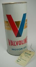 VALVOLINE® Motor Oil SAE 10W-30 (HD) Motoröl Blechdose Ölwechselanhänger Sammler