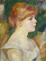 AUGUSTE RENOIR FRENCH SUZANNE VALADON OLD ART PAINTING POSTER PRINT BB4903A