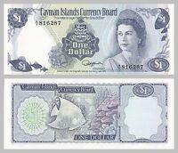 Kaimaninseln / Cayman Islands 1 Dollar 1974 p5b unz.
