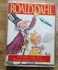 AUDIO BOOK: ROALD DAHL Charlie and the Great Glass Elevator on 2 x cass