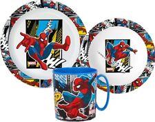 Spiderman Dînette Garçon Petit Déjeuner Tout Ensemble de Couverts Jardin D Micro