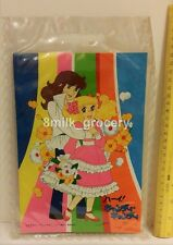 Vintage 70s Popy Candy Candy Big Anime Card with Plastic Gift Bag MIP