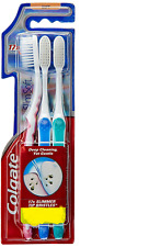 Colgate Slim Soft Toothbrush SOFT | Bristle Deep Clean - 3 pc in 1 pack