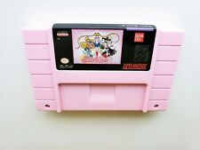 Sailor Moon R - (Pink Edition) SNES Super Nintendo Beat Em Up / Brawler (USA)