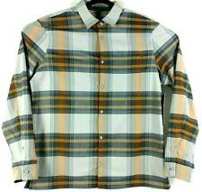 Lululemon Mens Size XL Masons Peak Flannel Shadow Plaid Soft Long Sleeve Shirt