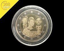 2 Euro Luxemburg Hochzeit Prinzenhochzeit 2012 bankfrisch inkl. Kapsel unz