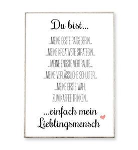 BESTE FREUNDIN Kunstdruck Poster Bild Freundschaft Schwester Freundin