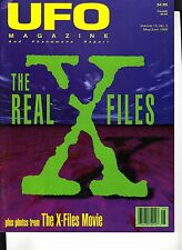 UFO Magazine Phenomena May/June 1998 Real X-Files Movie Photos