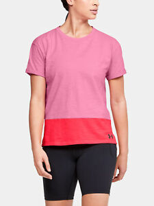 Women's Under Armour Charged Cotton T-Shirt - Pink