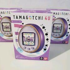 New Tamagotchi 4U Purple & Screen Protector (US Seller)