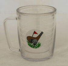 16 Oz Tervis Tumbler Golf Handled Mug Double Insulated Walls