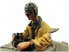 1/16 Radio Control TANK COMMANDER WWII SOLDIER FIGURE Half Body PAINTED #2010