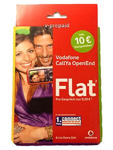 TOP 0172 Vorwahl original Vodafone Callya OpenEnd Prepaid Sim Karte Händler