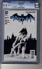 Batman (2011) # 26 1:100 Capullo Sketch RI - CGC 9.4 WHITE Pages - Dark City III