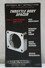 Spectre 11261 Power Plate Throttle Body Spacer 1997-2010 Ford F-150 4.6L V8