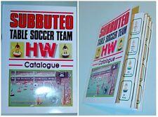 Subbuteo : CATALOGO COMPLETO a colori dei Ref. delle squadre HW degli anni '70 *