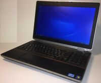 Dell Latitude e6520 Intel Core i7 2620M-3,4GHz 8GB-RAM SSD WINDOWS HDMI AKKU-OK