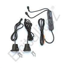 LED Hideaway Lights,12/24V, Flush/Bracket, LightBar Recovery Strobe Beacon BLUE
