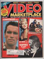 Video Marketplace #5, Vol 3 (Jul/Aug 1990) Schwarzenegger Vampires Sex Sirens z