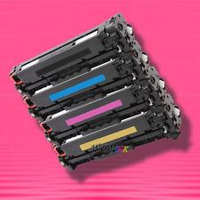 4 Non-OEM Alternative TONER for HP CC530A-CC533A 304A LaserJet CP2025dn CP2025n