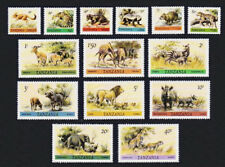 Wild Animals Tanzania # 161 - 174 Mint Never Hinged Complete Set of 14