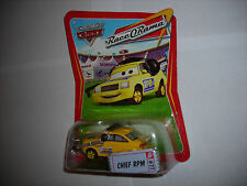 Disney Pixar Cars RACE O RAMA CARD CHIEF RPM #77 RARE NIP LOOK!!