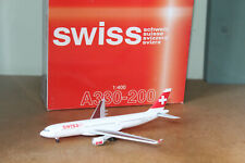DRAGON WINGS TUCANO 1:400 AIRBUS A330-200 - SWISS AIRLINES 55418