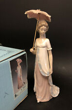 Spanish Porcelain Lladro Figure #5322 Damita Vienesa