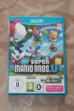 New Super Mario Bros U + Luigi U + Bonus Videos - wie neu - für Nintendo Wii U