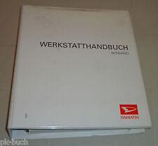 Werkstatthandbuch Daihatsu Sirion Allrad M 110 / 4WD, Stand 10/1999