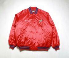 VINTAGE 2002 NIKE Men's NBA Franchise Jacket NKF005125SX4 PHILADELPHIA 76ERS