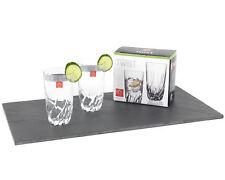 RCR 25123020006 Twist Crystal Hi-Ball Cocktail Water Tumblers Glasses, 470 ml, S